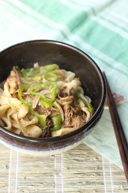 agneau cumin piment cuit au wok rapide