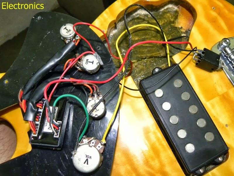 CA Gear Blog: OLP Tony Levin Signature 5 String Bass