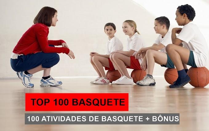 TOP 100 BASQUETE ESCOLAR - Atividades de Basquete para Escolas e Escolinhas