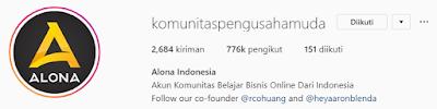 Akun Instagram bisnis terpopuler