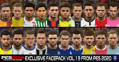 PES 2019 Exclusive Facepack Vol. 19 By Sofyan Andri