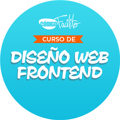CódigoFacilito: Curso Diseño Web Frontend, Más de 4 horas de vídeo tutoriales en Español