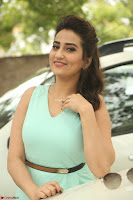 Manjusha in beautiful thin green gown At Jaya Janaki Nayaka le Logo Launch ~  Exclusive 001.JPG