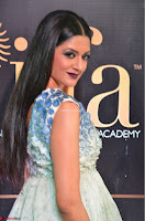 Vimala Raman in a Deep Neck White Shaded Sleeveless Gown ~  Exclusive 38.JPG