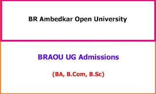 BR Ambedkar Open University UG Admission Notification
