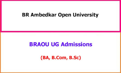 BR Ambedkar Open University UG Admission Notification