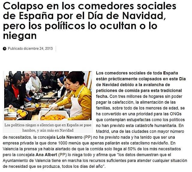 http://espiaenelcongreso.com/2013/12/24/colapso-en-los-comedores-sociales-de-espana-por-el-dia-de-navidad-pero-los-politicos-lo-ocultan-o-lo-niegan/