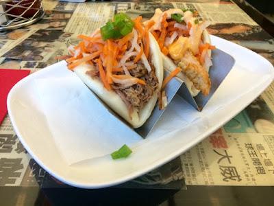 Boas (Chinese Steamed Buns) at NaiNai's Noodle and Dumpling Bar