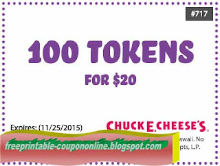 Free Printable Chuck E Cheese Coupons