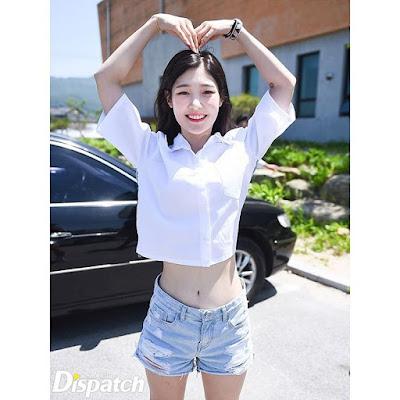 신인걸그룹 중 어마어마한 한줌허리 멤버 3명.jpgif | 인스티즈