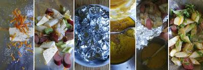 Zubereitung Spargel-Rhabarber-Salat
