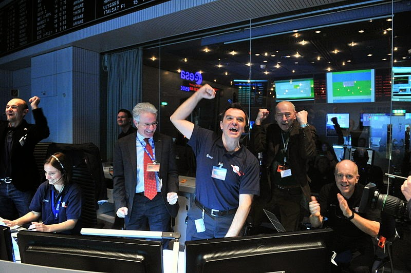 Control room at ESOC