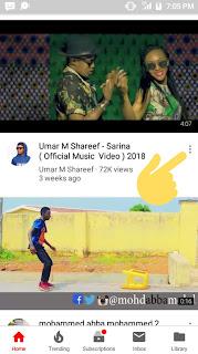 Yadda zaka sauke video daga YouTube