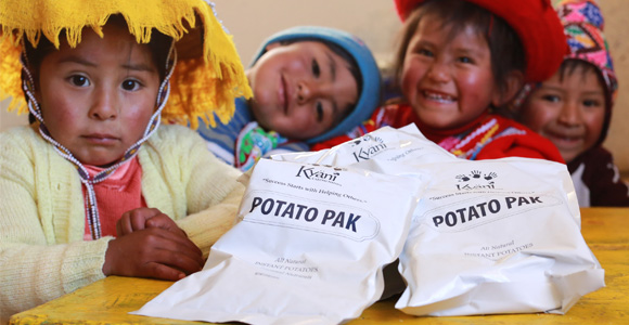 Kyäni CARING HANDS ( POTATO PAK PROGRAM )