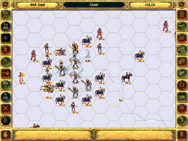 Last Winter Mission   Fantasy General Screenshot