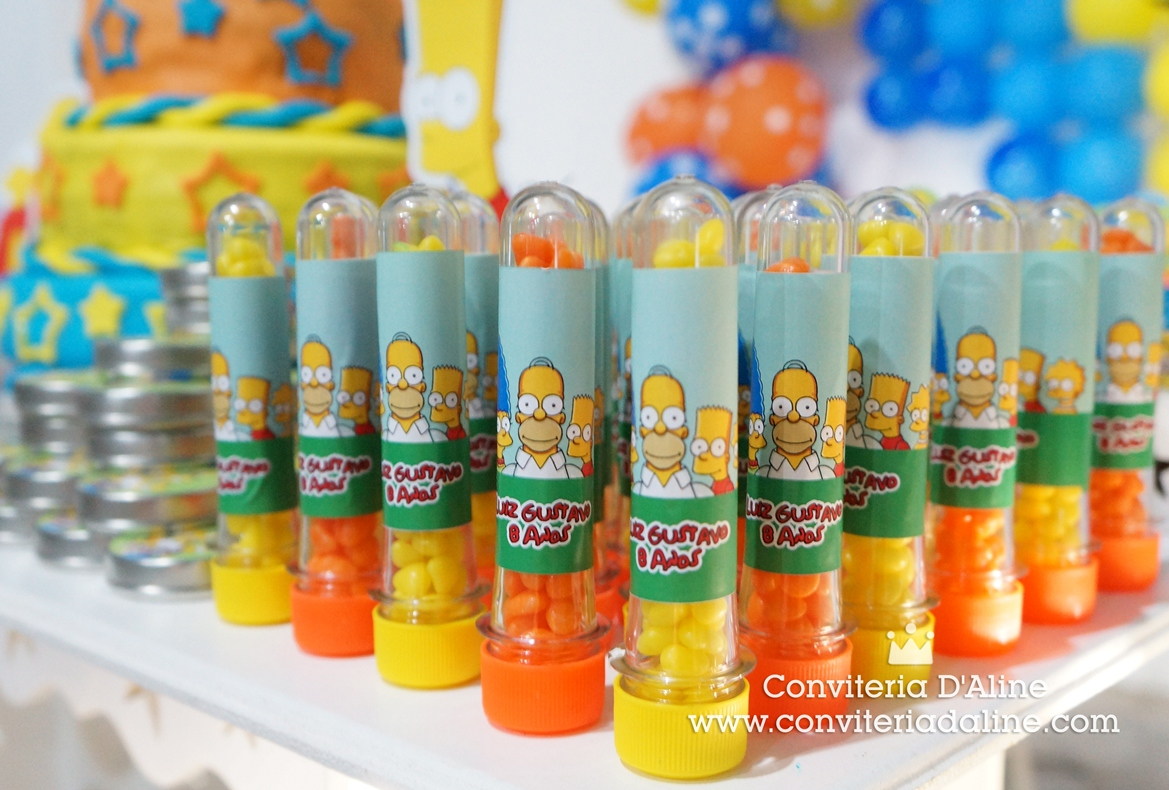 Simpsons Party Decor