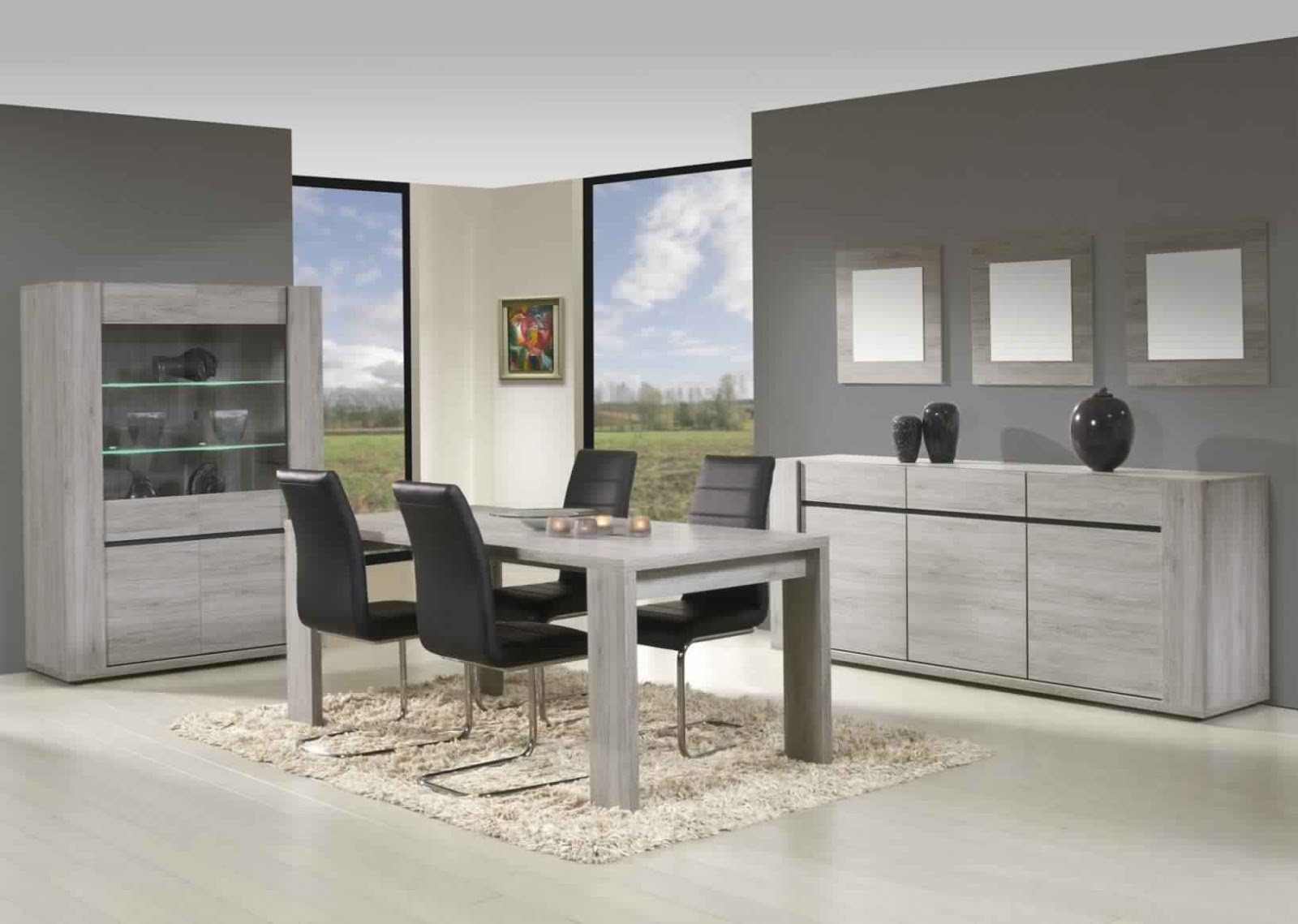 salle a manger but complete table de lit. Black Bedroom Furniture Sets. Home Design Ideas