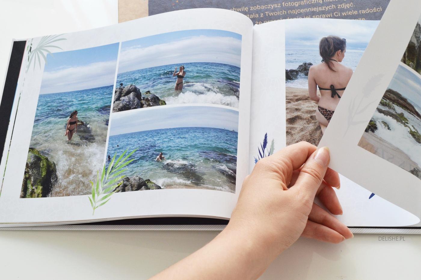 fotoksiążka z wakacji printu