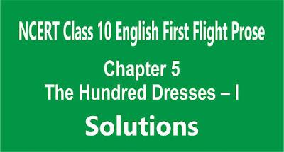 Chapter 5 The Hundred Dresses – I