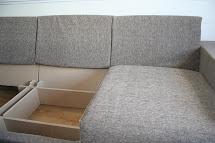 Modular Sofa With Storage Bed Design