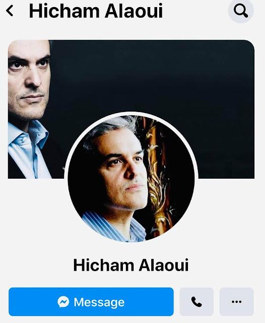 """عاجل...صفحة الأمير هشام العلوي تتعرض لعملية اختراق وقرصنة من طرف """"هاكرز""""✍️👇👇👇"""