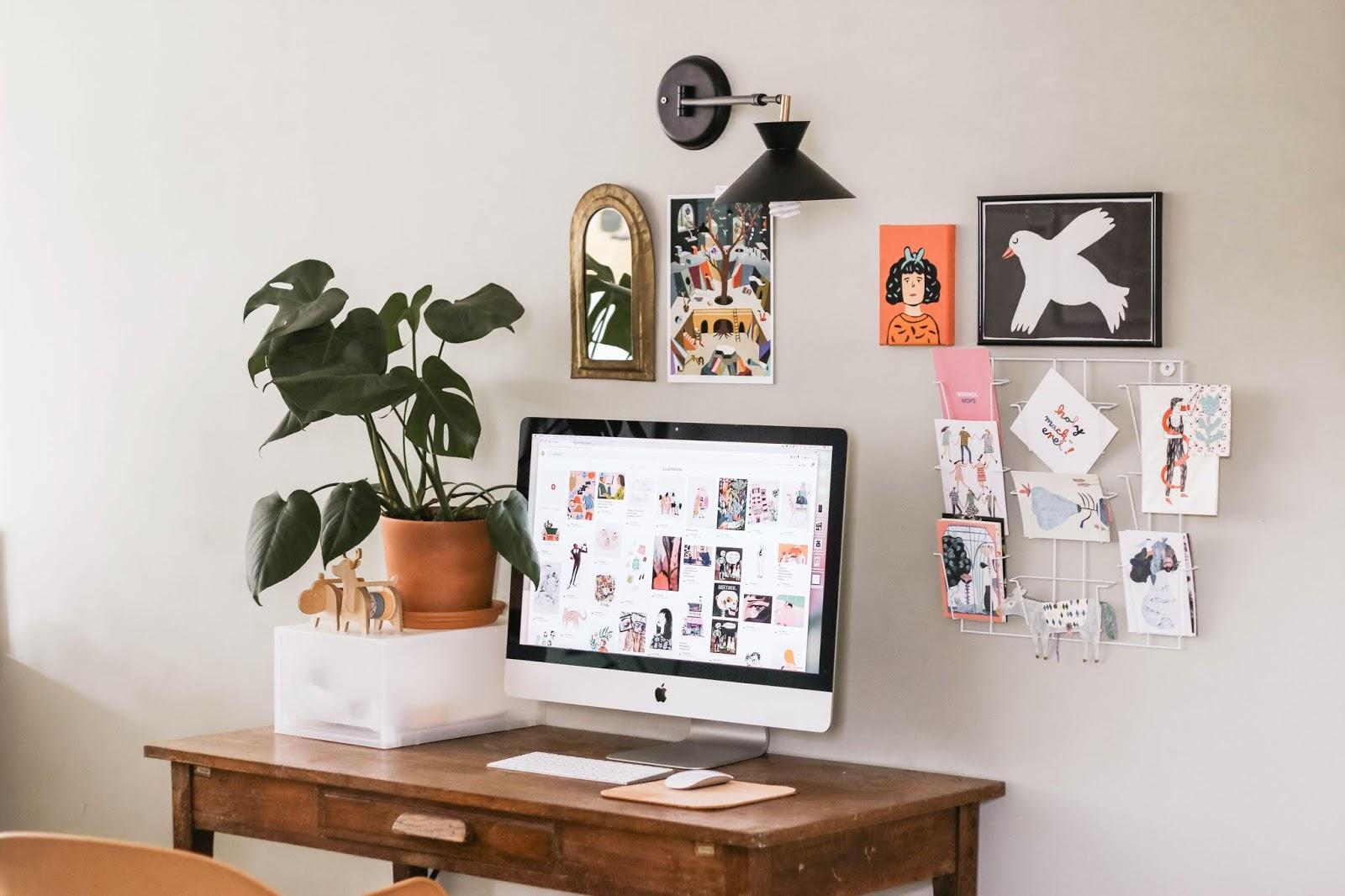 przestrzeń do pracy, jak urządzić miejsce do pracy