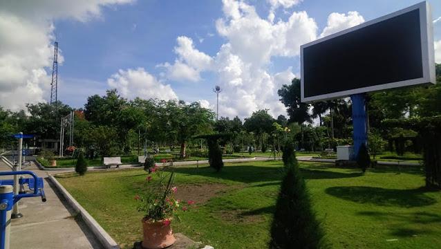 Công viên Sa Đéc ngoại cảnh