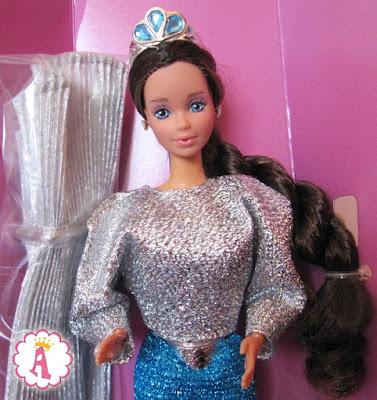 Первая кукла Уитни в серии Барби - подруга Barbie