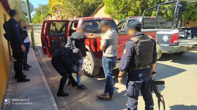Refuerzan SSP y GN acciones operativas en Chinicuila
