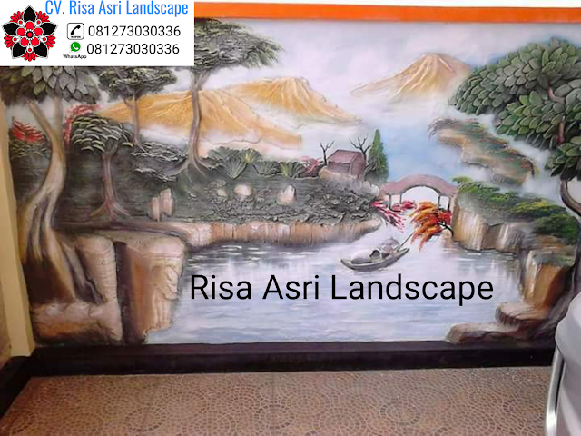 Jasa Dekorasi Kolam Tebing Ornamen Relif 3d Di Surabaya