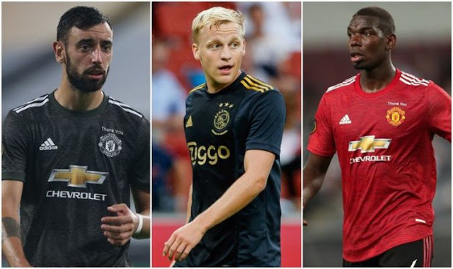 Manchester United's midfield options