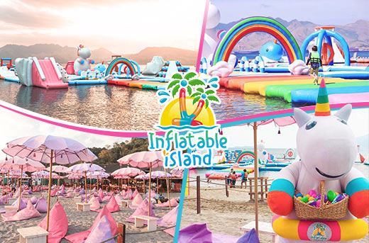 Inflatable Island in Zambales