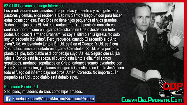Todo diablo está debajo suyo - William Branham en Español