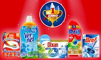 Logo Un anno di pulito con Henkel: vinci buoni spesa da 150€