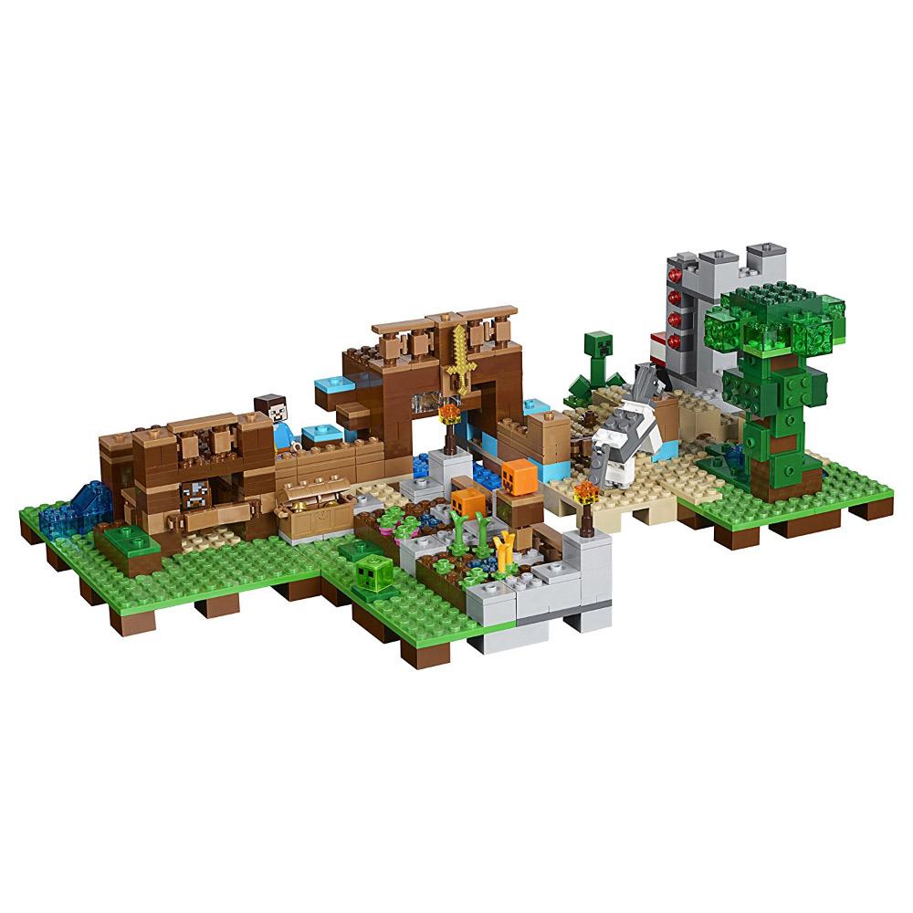 Lego Minecraft Crafting Table