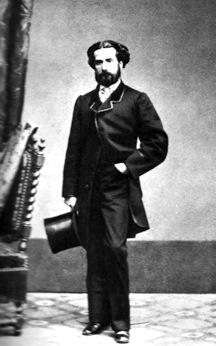 Retrato de Gustavo Adolfo Bécquer en grises