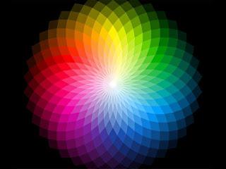 красивый цветовой круг