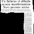 18 luglio 1976. Festeggiano la Liberazione di Arezzo. Uccisi in 9 da un fulmine