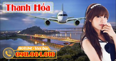 Bán vé máy bay giá rẻ đi Thanh Hóa
