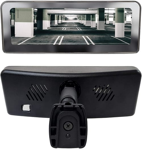 Master Tailgaters Frameless Rear View Mirror
