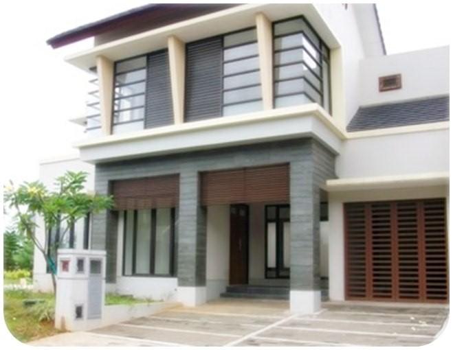 model rumah tingkat minimalis 1