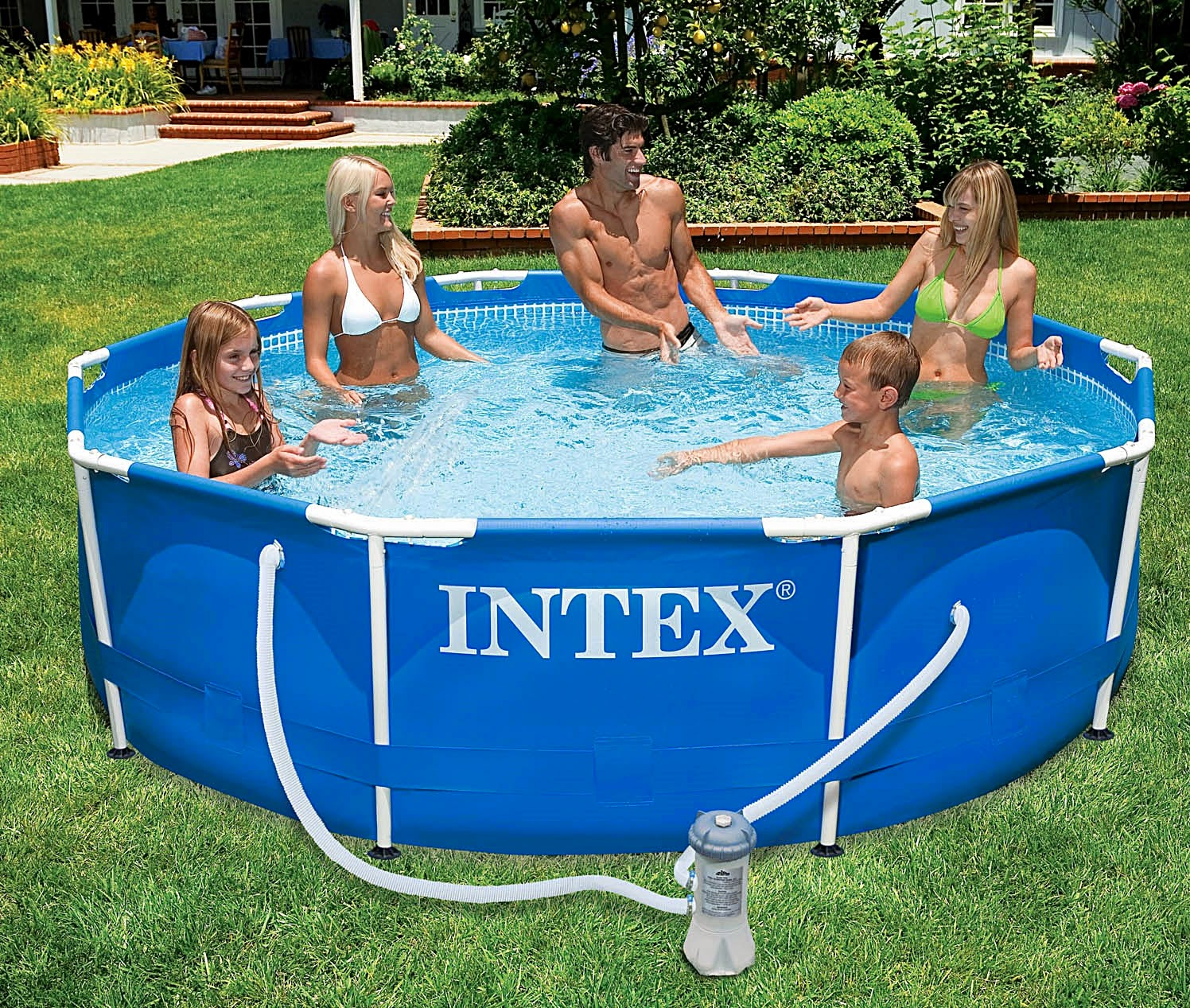 Piscina Intex Familiar Piscinas On Line