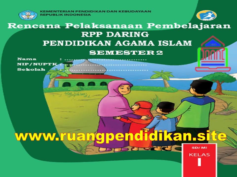 RPP Daring PAI Semester 2 Kelas 1 SD/MI