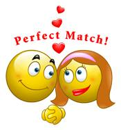 Perfect match smileys