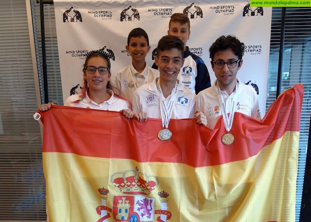 La delegación española obtiene sus primeras medallas en las Olimpiadas de Deportes Mentales Internacionales de Londres