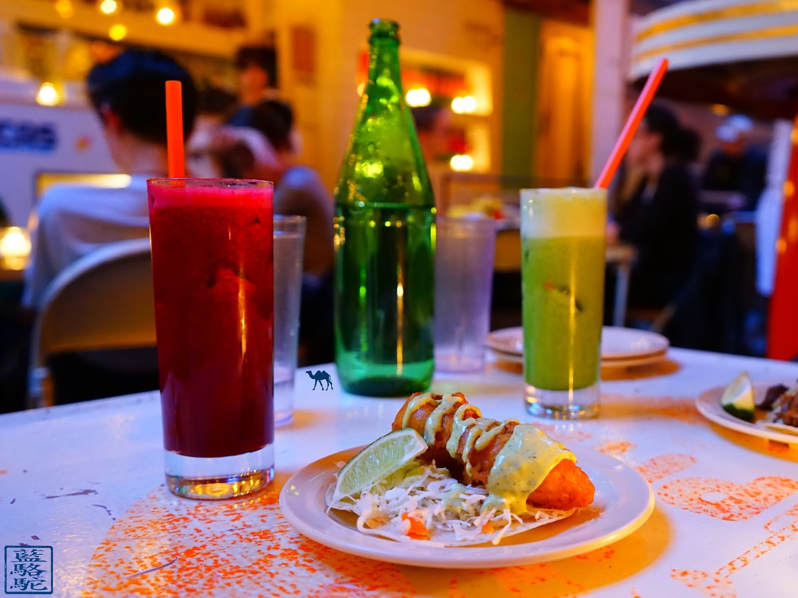 Le Chameau Bleu - Tacombi Restaurant de Tacos mexicain à New York