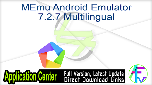 MEmu Android Emulator Offline Installer 7.2.7 Multilingual