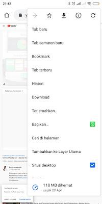 youtube desktop mode -sahretech
