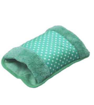 Hot Water Bag HHMD Electric Heating Gel Pad Fur Velvet