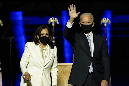 Biden-Harris Moment During the Victory Speech